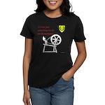 Not just Fiber Arts Women's Dark T-Shirt