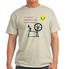 Not just Fiber Arts Light T-Shirt
