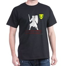 Not Just Heavy Fighting Dark T-Shirt