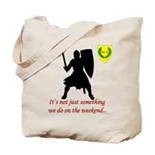 Not Just Heavy Fighting Tote Bag