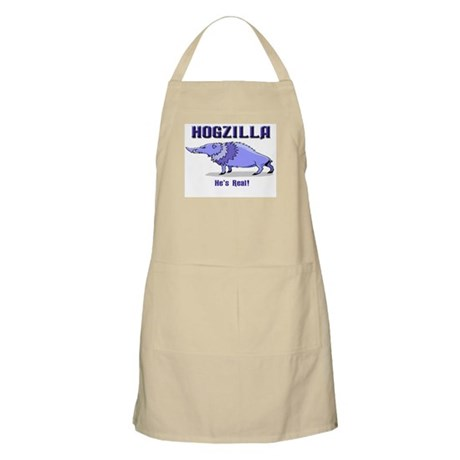 HOGZILLA... He's Real BBQ Apron