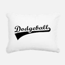 Dodgeball Rectangular Canvas Pillow