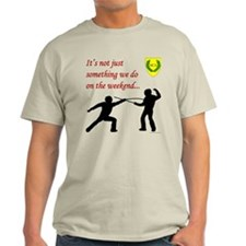 Not Just Rapier Fighting Light T-Shirt