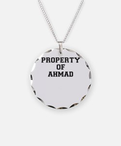 Property of AHMAD Necklace