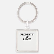 Property of AHMED Keychains