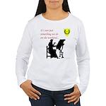 Not Just Scribal Arts Women's Long Sleeve T-Shirt