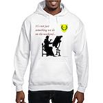 Not Just Scribal Arts Hooded Sweatshirt