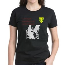 Not Just Scribal Arts Women's Dark T-Shirt
