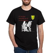 Not Just Scribal Arts Dark T-Shirt
