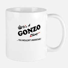 GONZO thing, you wouldn't understand Mugs