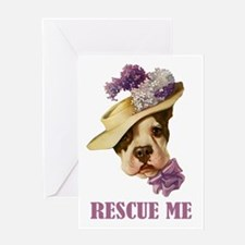 RESCUE ME Greeting Card