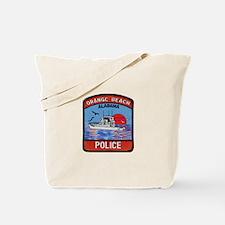 Orange Beach Police Tote Bag