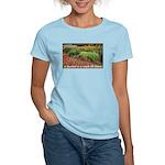 Garden is a work of heart Women's Light T-Shirt