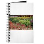 Garden is a work of heart Journal