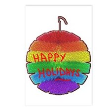 HOLIDAYS RAINBOW ORNAMENT Postcards (Package of 8)