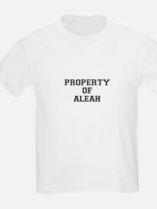 Property of ALEAH T-Shirt