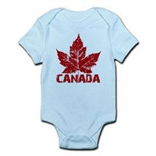 Cool Canada Souvenir Infant Bodysuit