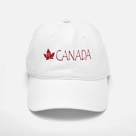 Cool Canada Souvenir Baseball Baseball Baseball Cap Maple Leaf Art