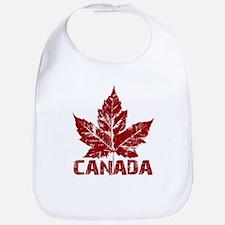 Cool Canada Souvenir Bib Maple Leaf Gifts