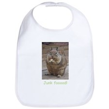 StacyJMT MyPaws Baby Bib with Squirrel