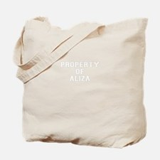 Property of ALIZA Tote Bag