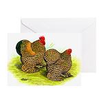 GL Cochin Bantams Greeting Card