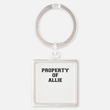 Property of ALLIE Keychains