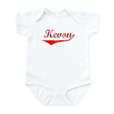 Kevon Vintage (Red) Infant Bodysuit