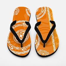 Cute Tiki Flip Flops