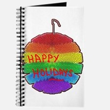 HOLIDAYS RAINBOW ORNAMENT Journal