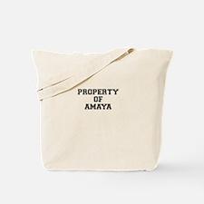Property of AMAYA Tote Bag