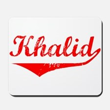 Khalid Vintage (Red) Mousepad