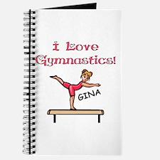 I Love Gymnastics (Gina) Journal