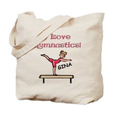 I Love Gymnastics (Gina) Tote Bag
