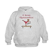 I Love Gymnastics (Gina) Hoodie