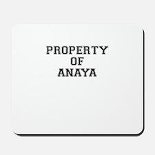 Property of ANAYA Mousepad