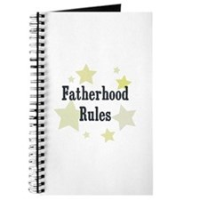 Fatherhood Rules Journal