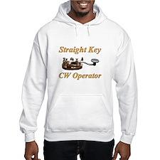 Straight Key CW Operator Hoodie
