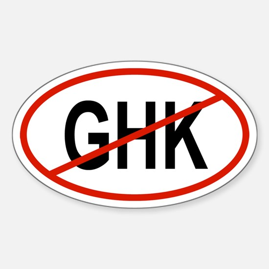 GHK Oval Decal