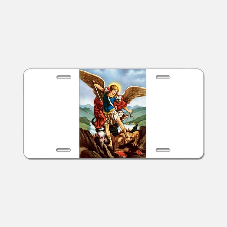 Cute Archangel Aluminum License Plate