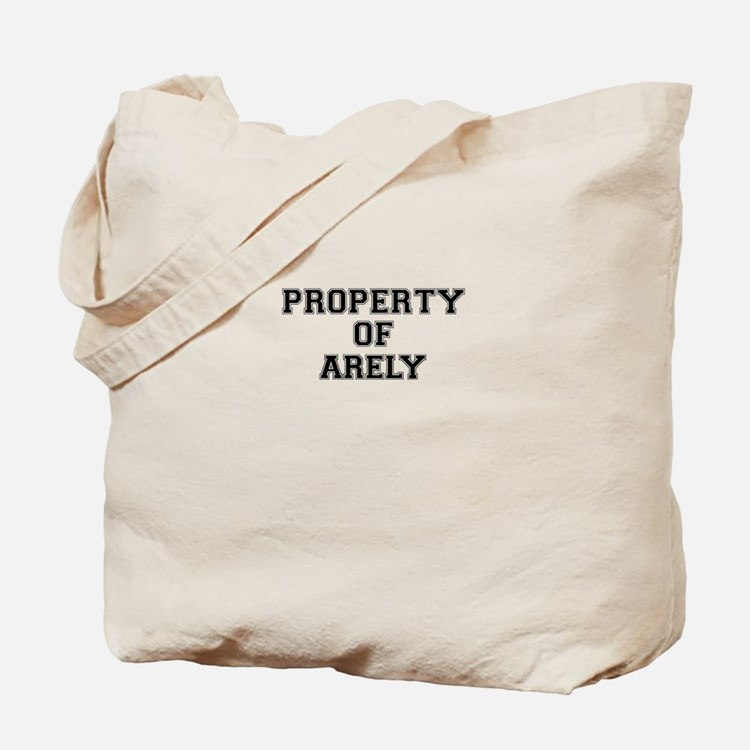 Property of ARELY Tote Bag