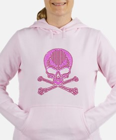 Unique Skull Women's Hooded Sweatshirt