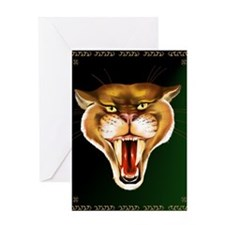 Sabertoothed Tiger Greeting Card