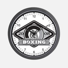 2008 Boxing Logo Wall Clock