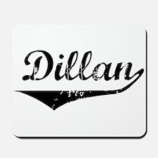 Dillan Vintage (Black) Mousepad