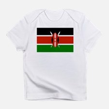 Kenyan Flag Infant T-Shirt