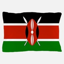 Kenyan Flag Pillow Case