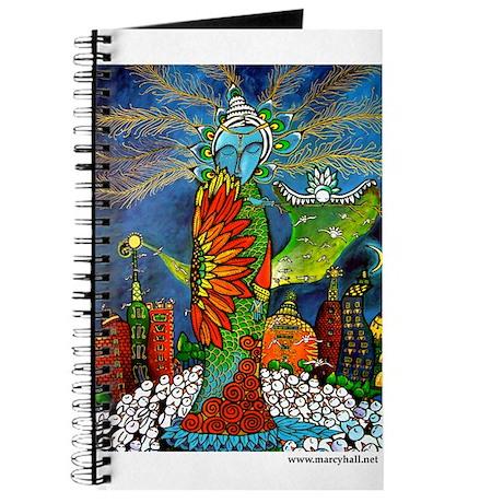 Marcy Hall's Bird Goddess Journal
