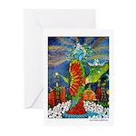 Marcy Hall's Bird Goddess Cards (Pk of 10)