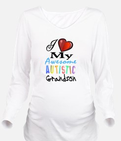 Awesome Grandson Long Sleeve Maternity T-Shirt